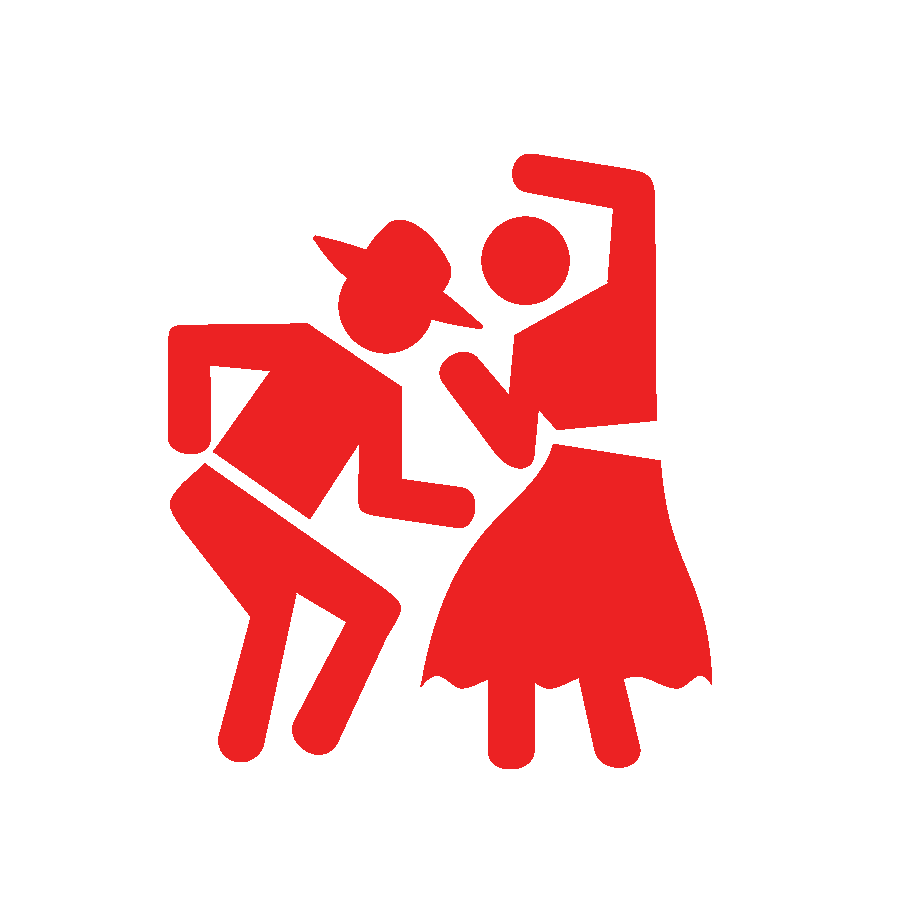 Танцы и ведущий каждый день